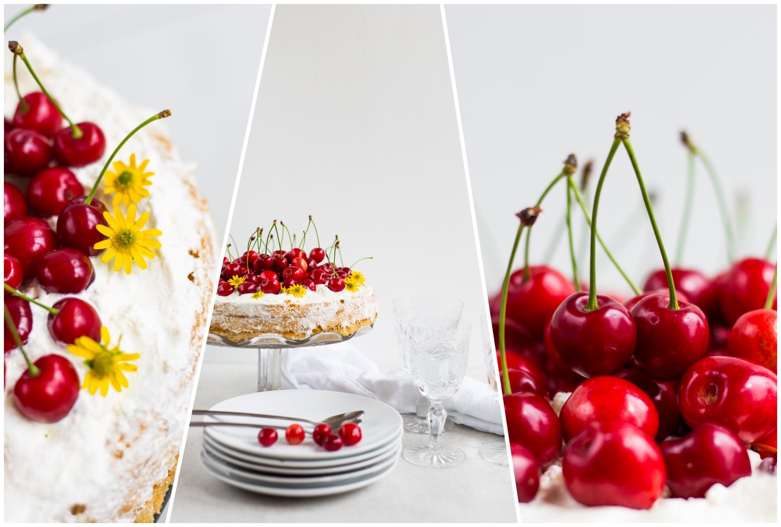 Jednoduchá čerešňová torta