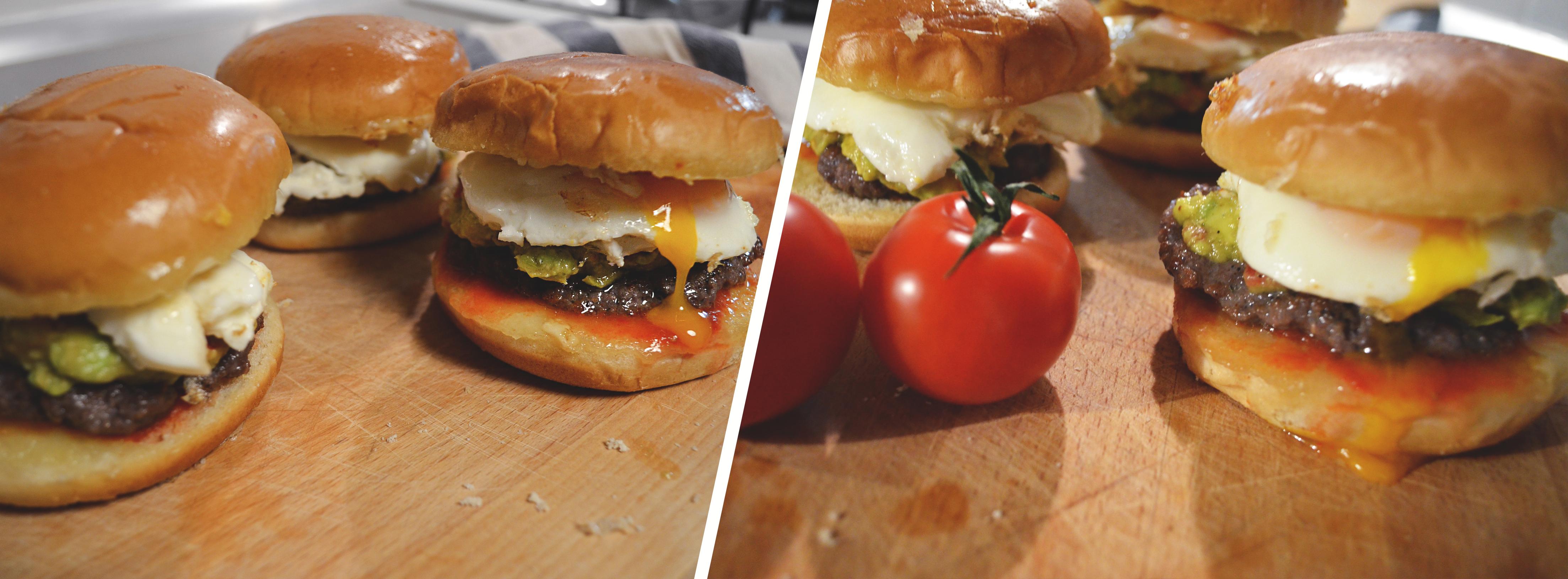 Superchutný burger